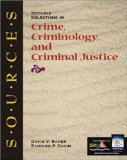 Book Cover Sources: Notable Selections in Crime, Criminology, and Criminal Justice