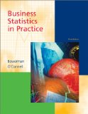 Book Cover Business Statistics in Practice (The McGraw-Hill/Irwin series: operations and decision sciences)