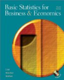 Book Cover Basic Statistics for Business and Economics (Mcgraw-Hill/Irwin Series Operations and Decision Sciences)