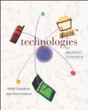 Book Cover E-Business & E-Commerce Infrastructure: Technologies Supporting the E-Business Initiative