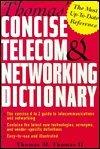 Book Cover Thomas' Concise Telecom & Networking Dictionary