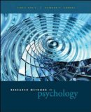 Book Cover Research Methods in Psychology: Ideas, Techniques, and Reports