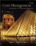 Book Cover Cost Management:  Strategies for Business Decisions