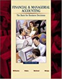 Book Cover Financial & Managerial Accounting: A Basis for Business Decisions with Revised Student CD-ROM , NetTutor & PowerWeb Package