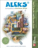 Book Cover Aleks User's Guide and Access Code for Foundations of Business Math