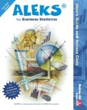 Book Cover ALEKS for Business Statistics User's Guide and Access Code (Stand Alone for 1 Semester)