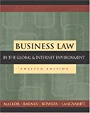 Book Cover Business Law: The Ethical, Global, and E-Commerce Environment with PowerWeb and Student DVD