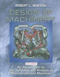 Book Cover Design of Machinery: An Introduction to the Synthesis and Analysis of Mechanisms and Machines