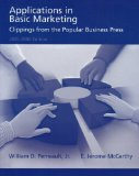 Book Cover Applications in Basic Marketing: Clippings From the Popular Business Press 2005-2006 Edition