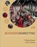 Book Cover Business Marketing: Connecting Strategy, Relationships, and Learning (McGraw-Hill/Irwin Series in Marketing)
