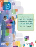 Book Cover Basic Business Communication: Skills For Empowering the Internet Generation