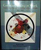 Book Cover Communicating at Work: Principles and Practices Business and the Professions
