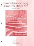 Book Cover Basic Statistics Using Excel to accompany Statistical Techniques in Business and Economics