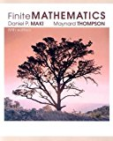 Book Cover Finite Mathematics, 5th Edition