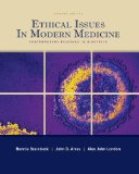 Book Cover Ethical Issues in Modern Medicine: Contemporary Readings in Bioethics, 7th Edition