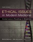 Book Cover Ethical Issues in Modern Medicine: Contemporary Readings in Bioethics