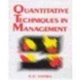 Book Cover Quantitative Techniques in Management