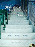 Book Cover Statistical Techniques in Business and Economics with Student CD