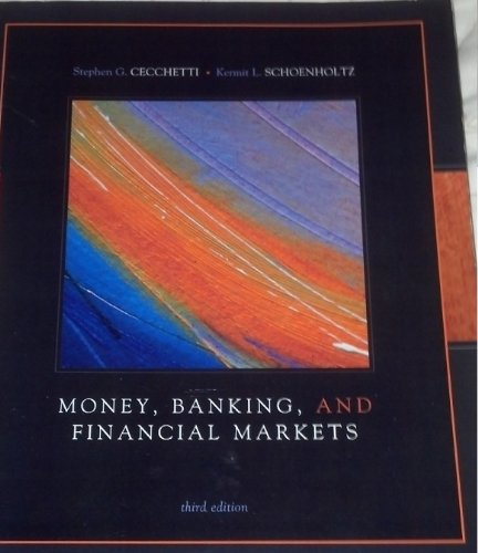 Book Cover Money Banking and Financial Markets (Franklin University)