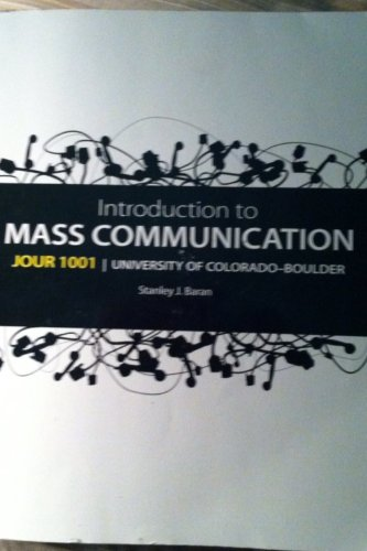Book Cover Introduction to Mass Communications (Journalism 1001: University of CO Boulder)