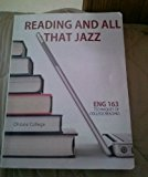 Book Cover Reading and All That Jazz Eng 163 Techniques of College Reading