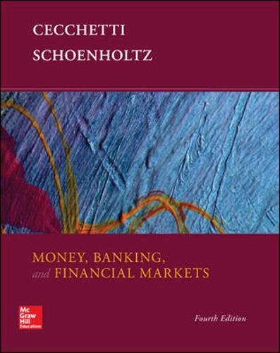 Book Cover Money, Banking and Financial Markets (Irwin Economics)