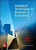 Book Cover Statistical Techniques in Business and Economics, 16th Edition