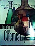 Book Cover Introduction to Chemistry, 3rd Edition, Custom for Columbus State Community College
