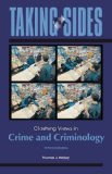 Book Cover Taking Sides: Clashing Views in Crime and Criminology