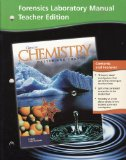 Book Cover Glencoe Chemistry Matter and Change: Forensics Laboratory Manual, Teacher Edition