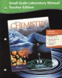 Book Cover Small-Scale Laboratory Manual Teacher Edition Glencoe Chemistry Matter and Change