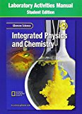 Book Cover Glencoe Science Integrated Physics & Chemistry: Laboratory Activities Manual
