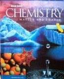 Book Cover Glencoe Science, Chemistry, Matter and Change