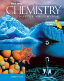 Book Cover Glencoe Chemistry: Matter and Change, California Student Edition