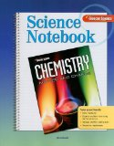 Book Cover Glencoe Chemistry Science Notebook: Matter and Change (Glencoe Science)