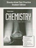 Book Cover Glencoe Chemistry Standardized Test Practice: Matter and Change (Glencoe Science)