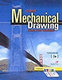 Book Cover Mechanical Drawing Board & CAD Techniques, Student Edition (FRENCH: MECHANICAL DRAWING)