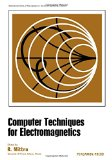Book Cover Computer techniques for electromagnetics, (International series of monographs in electrical engineering, v. 7)