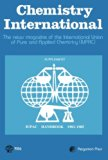 Book Cover Chemistry International: The News Magazine of the International Union of Pure and Applied Chemistry (IUPAC)