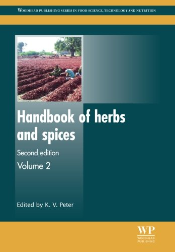 Book Cover Handbook of Herbs and Spices (Woodhead Publishing Series in Food Science, Technology and Nutrition)
