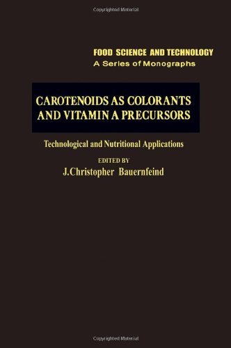 Book Cover Carotenoids as Colorants and Vitamin A Precursors: Technological and Nutritional Applications (Food Science and Technology)