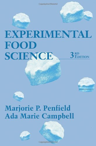Book Cover Experimental Food Science, Third Edition (Food Science and Technology)