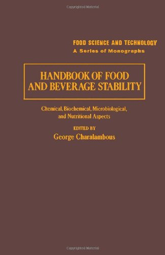 Book Cover Handbook of Food and Beverage Stability (Food Science and Technology)