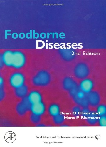Book Cover Foodborne Diseases, Second Edition (Food Science and Technology)