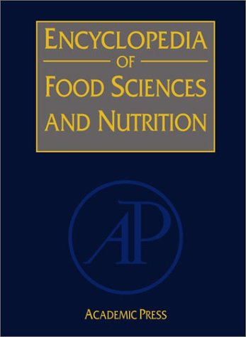 Book Cover Encyclopedia of Food Sciences and Nutrition