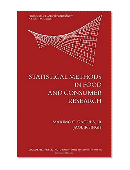 Book Cover Statistical Methods in Food and Consumer Research (Food Science and Technology)