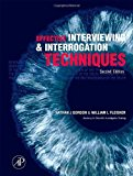 Book Cover Effective Interviewing and Interrogation Techniques, Second Edition