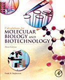 Book Cover Calculations for Molecular Biology and Biotechnology, Third Edition