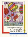 Book Cover Leadership and Management of Programs for Young Children (2nd Edition)