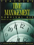 Book Cover Teacher's Time Management Survival Kit: Ready-To-Use Techniques and Materials